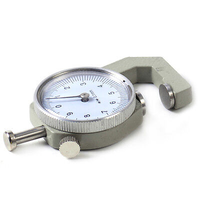 0-10mm Leather Thickness Metal Gauge Tester Measure Leathercraft Tools Craft GL