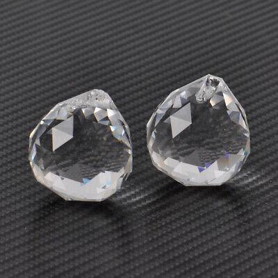 10tlg Klar 20//30mm Regenbogen Kristall Kugel Behang Ball Pendelleuchte Tropfen