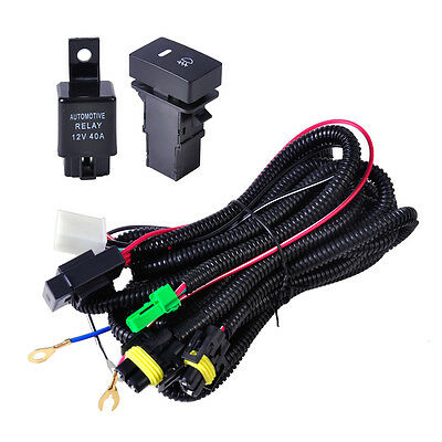 fog light wiring harness sockets wire led indicators switch fog light wiring harness sockets wire led indicators switch relay fit ford 2