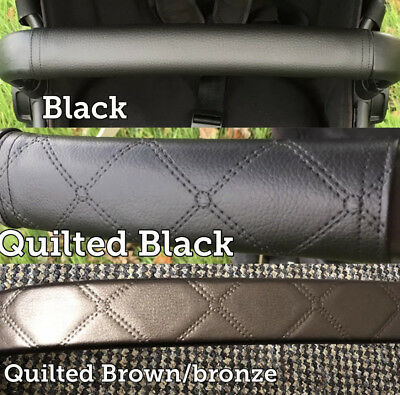 Quinny Zapp Flex Plus Faux Leather handlebar and bumper bar covers