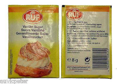 RUF Vanillin Sugar 10 starch x8g, Sucre Vanillin 2