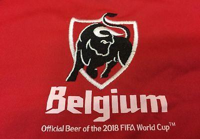 MAILLOT FOOTBALL BIERE BELGE BEER BIER JUPILER RED DEVILS EURO 2016 # ALL IN RED
