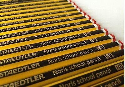 Staedtler Noris 1-100 HB Pencils Office School Craft Art Drawing Break-Resistant 2