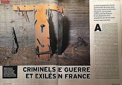 L'express*Poison Facebook*Accros Fb?*Fichage Hôpital*Georges Seurat*Criminels Fr 6