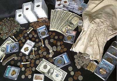 ✯ Estate Lot Sale ✯ Old US Coins ✯ GOLD .999 SILVER CURRENCY PROOF SET PCGS✯ 3