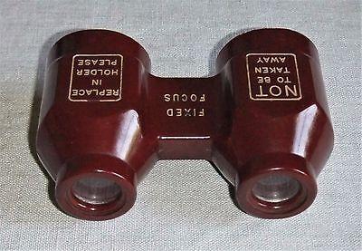 Antiguos Binoculares De Baquelita Años 30/40 Made In England