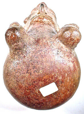 Pre-Columban Figural Vessel, Vicús Peru Ex Sothebys '76 5