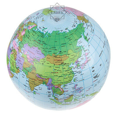 16 inflatable blow up globe world map atlas ball educational planet 1 of 2free shipping 16 inflatable blow up globe world map atlas ball educational planet earth ball gumiabroncs Image collections