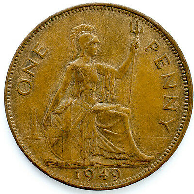 1937 To 1951 George Vi Penny / Pennies Choice Of Year / Date 2