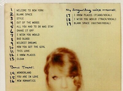 Taylor Swift  1989 Deluxe Edition CD NEW SEALED Free Shipping 2