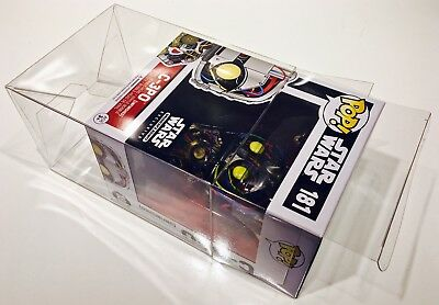 "15 FUNKO POP! 4"" Box Protectors! Acid Free Crystal Clear Cases For Vinyl Figures 2"