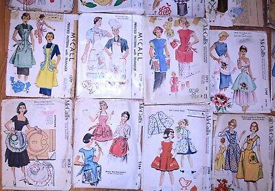 Lot #31 Patterns  Aprons Vintage// Modern//Classic Style Women Girls Dolls-U Pick