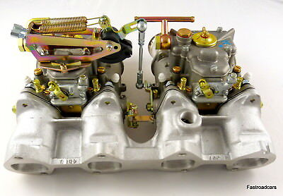 Weber Twin 45 Dcoe Carburettor Kit Bmw 2002 Assembled Ready To Fit 3