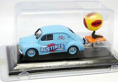 1/43  Renault 4Cv Commerciale Pub *Rustines* Tour De France 3