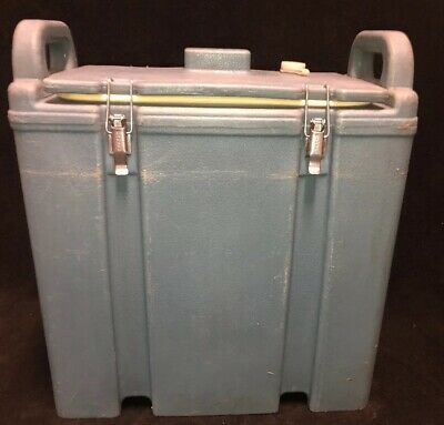 Cambro Blue Insulated Soup/Beverage Carrier 350LCD 3.3/8 Gallon Capacity. #1T 2