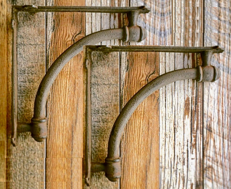 "Farmhouse Shelf Bracket(s) SET of 4 Corbel(s) Shelving New Antique Rustic 9.5"" 2"