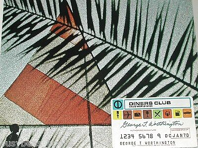 1970 Addressograph advertisement, Diner's Club Credit Card, embossing equipment 2