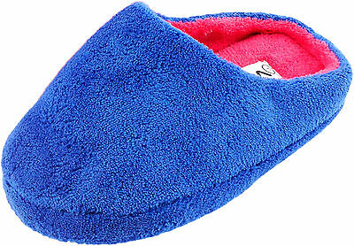 separation shoes 1f533 4bf7e DAMEN KUSCHEL - Hausschuhe Pantoffeln rutschfeste Sohle pink lila schwarz  blau