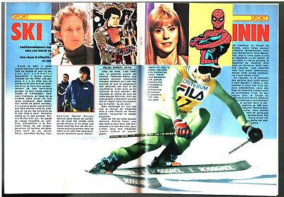 TELE JUNIOR n°8 ¤ 1980 ¤ HULK avec 4 VIGNETTES/STICKERS AUTOCOLLANTS 2