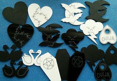 Art Craft Supplies 5x Skull Laser Cut