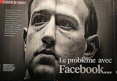 L'express*Poison Facebook*Accros Fb?*Fichage Hôpital*Georges Seurat*Criminels Fr 4