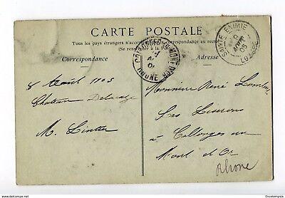 CPA - Carte postale -FRANCE-Gorges du Tarn - Le village de Pougnadoire - 1905