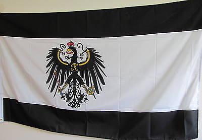 FLAGGE KÖNIGREICH PREUßEN 1701-1918 150x90cm PREUSSEN FAHNE 90 x 150 cm scheid