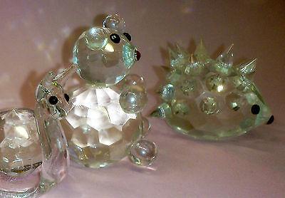 Set of 5 Crystal Glass Animals 9