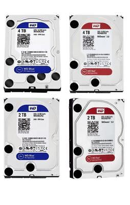 WD BLUE RED 1TB 2TB 3TB 4TB 6TB 8TB 10TB Internal NAS Hard Drive Western Digital 2