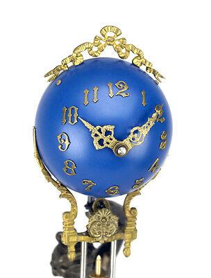 Beautiful Ansonia Cut 8 Day Movement Brass Huntress Lady Mystery Swinger Clock 5