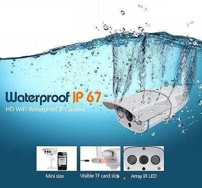 720P IP CCTV Caméra WIFI Sans Fil Vidéo IR Surveillance Sécurité Vision Nuit 2