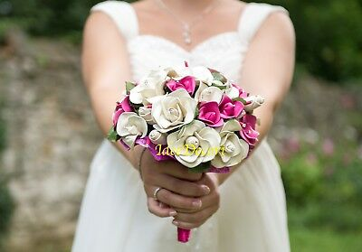 Bouquet sposa con fiori di palloncino gioiello unico per matrimonio fatto a mano 2