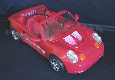 NEW GLORIA DOLL HOUSE FURNITURE SUPER RED SPORT CAR 22010