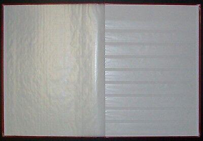 New Lighthouse 32 White Page Stockbook - Album
