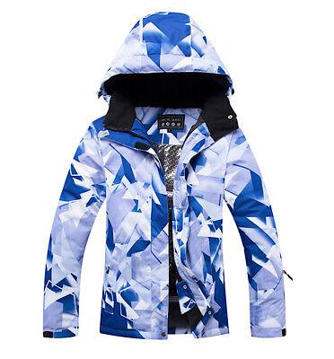 Completo Neve Tuta Sci Donna Giubbotto Set 2 pz Windproof Ski Suit Set CMSW10 P 3