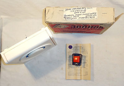 Vintage 1973 Russian Ussr Alarm Door Bell Solenoid * Tin - Don * 220V + Box 3