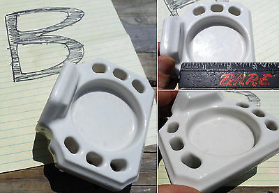 Choose Pick One...Antique Porcelain Bathroom Soap Dish, Cup\Toothbrush Holders 4