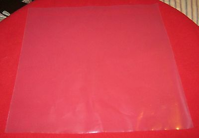 """100 Poly Outer Sleeves 3 Mil High Quality 12"""" Record LP Album Cover 33 RPM Vinyl 3"""