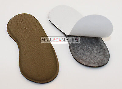 Extra Sticky Fabric Shoe Heel Inserts Insoles Pads Cushion Grips Strong Comfy 7
