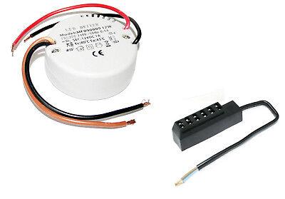 LED Unterbauspot 12 Volt Eli 3 Watt = 25 Watt Warmweiss 1,5m Zuleitung