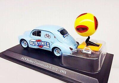 1/43  Renault 4Cv Commerciale Pub *Rustines* Tour De France 2