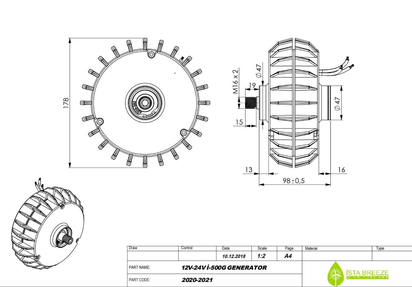 Dc 6V 12V 24V Generator Pommeau Dynamo Hydraulique Test Bloc Alimentation