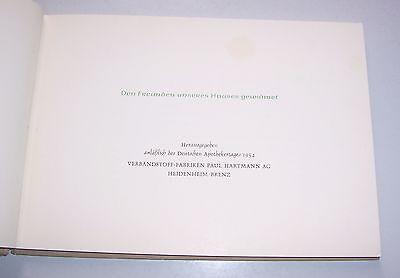 Die alte Apotheke - 1954 Verbandstoff Fabrik Paul Hartmann Heidenheim Brenz ! 2
