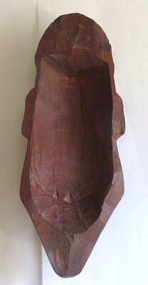 Ornement Mural En Bois De Palissandre Sculpté Figurant Le Visage D'un Jeune Chas