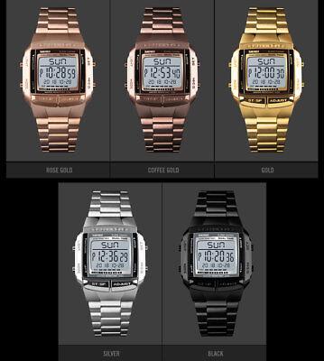 SKMEI Watch Luxury Sport Mens Watches Waterproof LED Digital Military Wristwatch 5