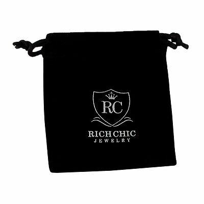 Rhodium Plated Sterling Silver Crisscross Circle CZ Womens Dangle Earrings 3