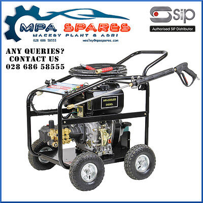 Sip 08928 Tempest Tdg1021/250 248Bar Diesel Pressure Washer 10Hp, 1002 Ltr/hr