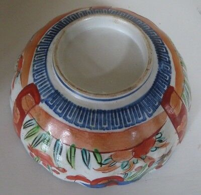 Anique Imari Bowl Made In Mid 19Th Century In China For Export To Japan 4