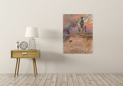 Painting Portrait Kossak Napoleon Bonaparte Battlefield Canvas Art Print 2