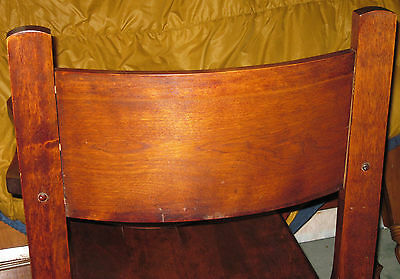 Antique  Wood Barrel Style Captains Chair Carved Old Man Winter Lion & Claw Feet 7